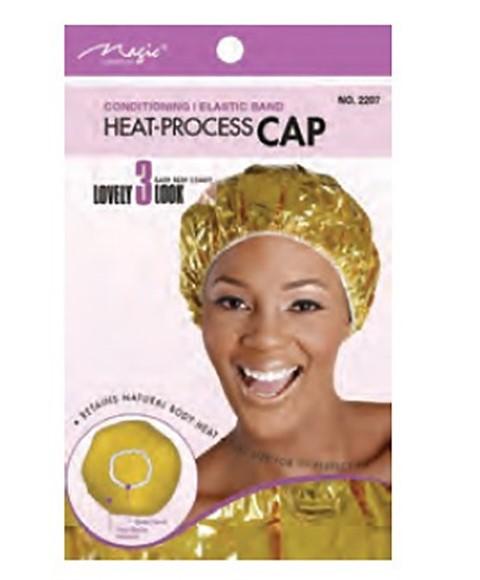 Zelfverwarmende Conditioning cap voor deep conditioning of haarmasker