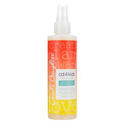 Ontwarrende spray voor kinderen met krullen