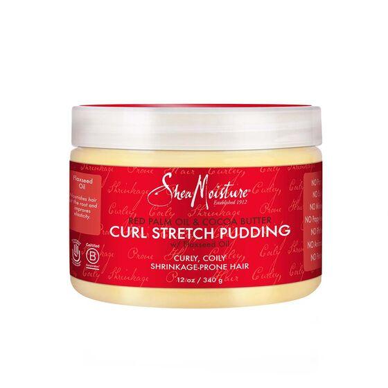 Stretch pudding tegen krimpend kroeshaar en krimpende krullen