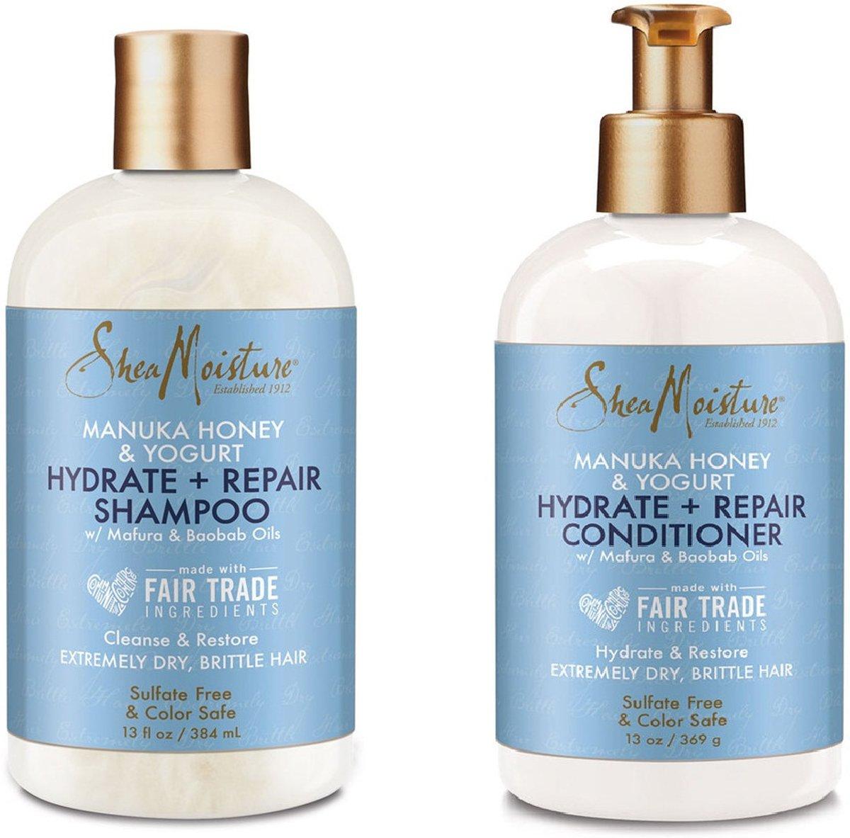 Reparerende Shampoo voor extreem droog en brekend haar