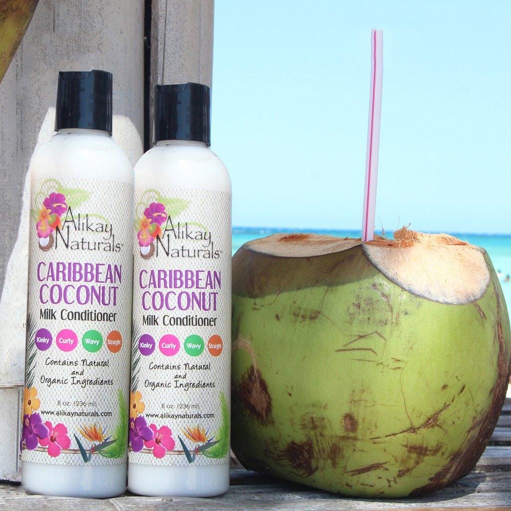 Conditioner met kokosolie voor droog, breekbaar haar