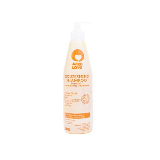 Voedende shampoo voor natuurlijk kroeshaar